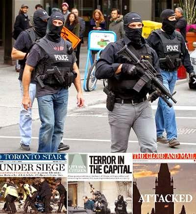 Ottawa shooting used by Harper to exploit terrorist threat