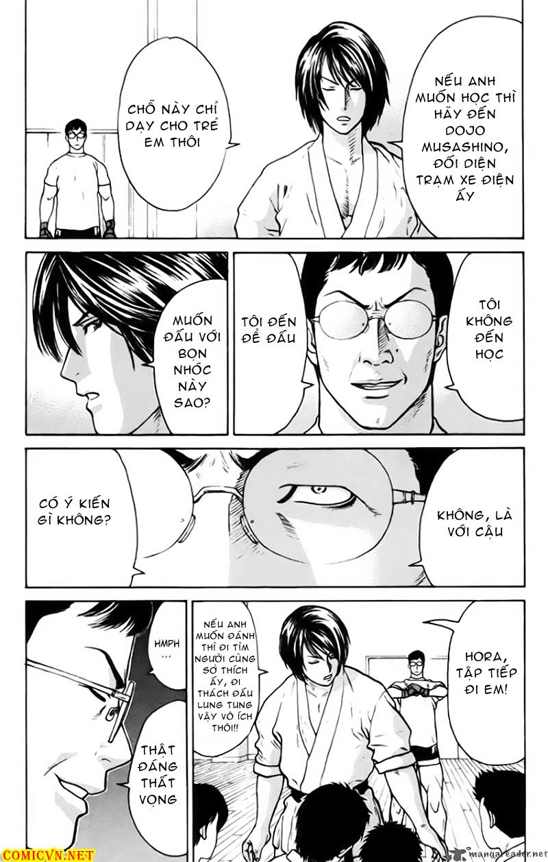 Karate Shoukoushi Kohinata Minoru chap 34 Trang 4