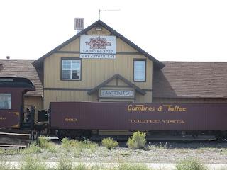train station antonito colorado
