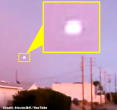 UFO Filmed Over Lake Havasu City 7-14-14