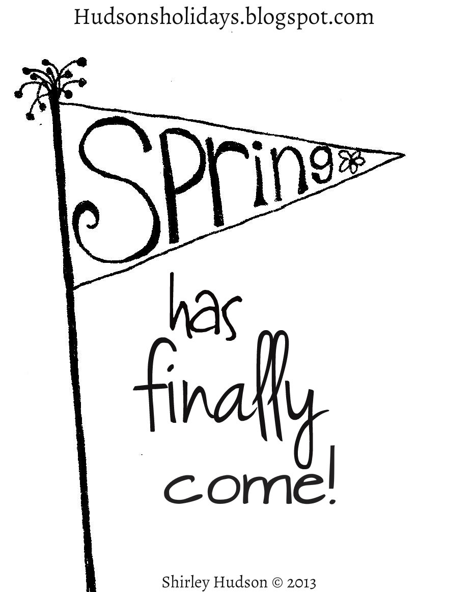 Free April Showers Bring May Flowers Coloring Pages