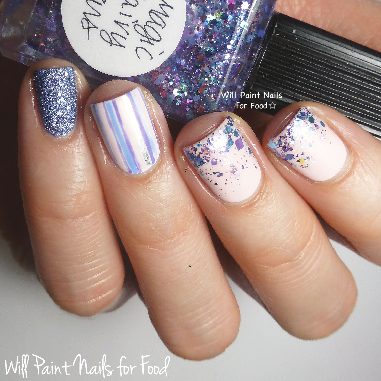 Lynnderella Magic Fairy Stars, Swatches and Nail Art | Will Paint ...