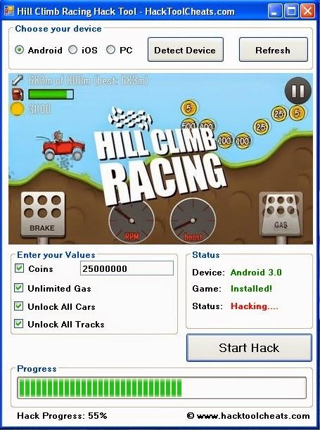 Как сделать бесконечные деньги в игре hill climb