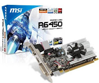 AMD Radeon HD 6450 from MSI