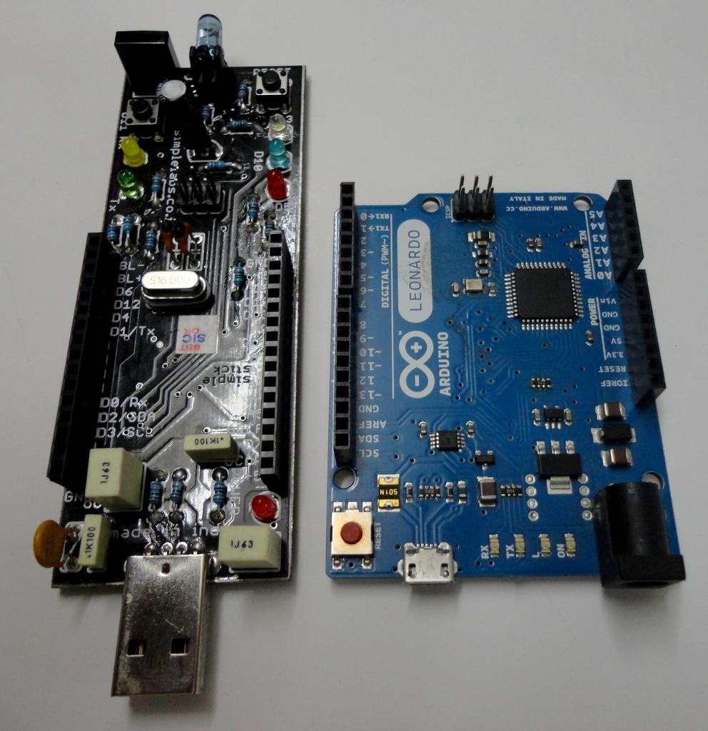Simple labs stick arduino leonardo clone users