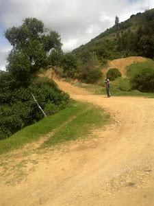Camino Arido hacia el alto