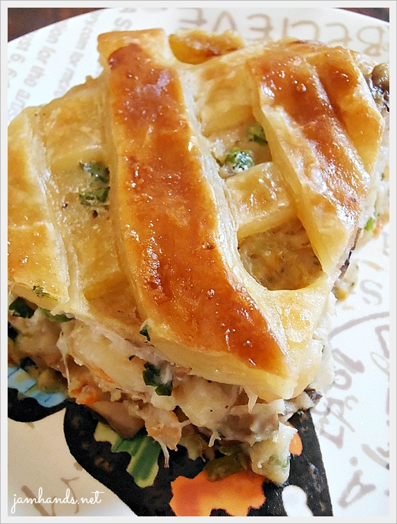 Jam Hands: Seafood Pot Pie with Puff Pastry