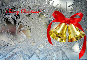 Golden Christmas bells-free wallpapers - colormagicphotography.com