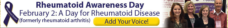 Rheumatoid Awareness Day is Feb. 2! Click for info!