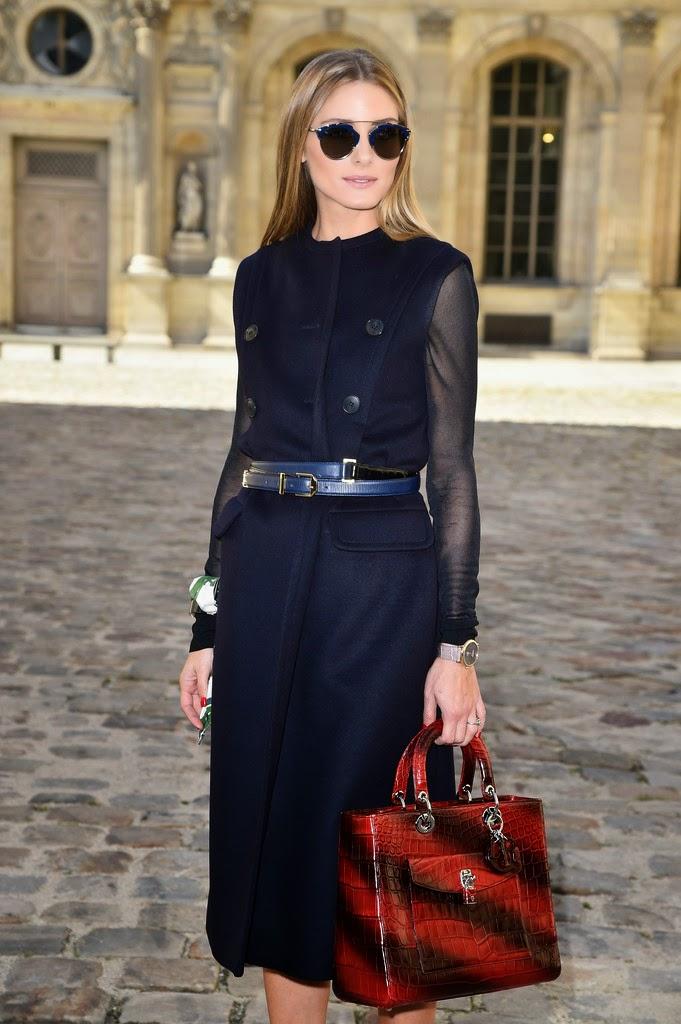The Olivia Palermo Lookbook Olivia Palermo At Paris Fashion Week Look 2