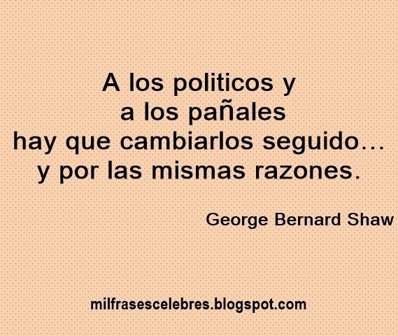 Frases de politicos