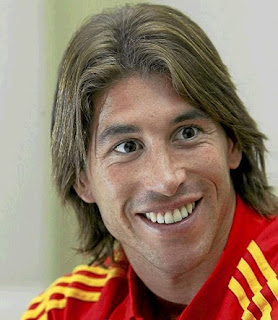 Sergio Ramos in Spanish jersey
