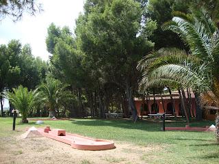 El Templo del Sol - Naturist Camping - Mini golf