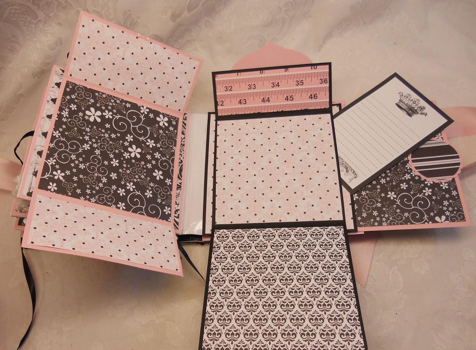 Scrapbookfashionista designs by rina teresa collins bebe - Fabriquer album photo maison ...
