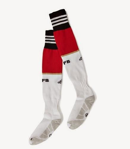 Socks - Kaos Kaki Grade Ori Jerman Home FIFA World Cup 2014