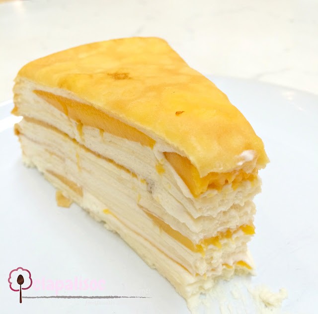 Paper Moon Cafe Glorietta Mango Mille Crepe