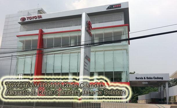 TOYOTA Auto200 KRIDA CILANDAK, Jakarta Selatan