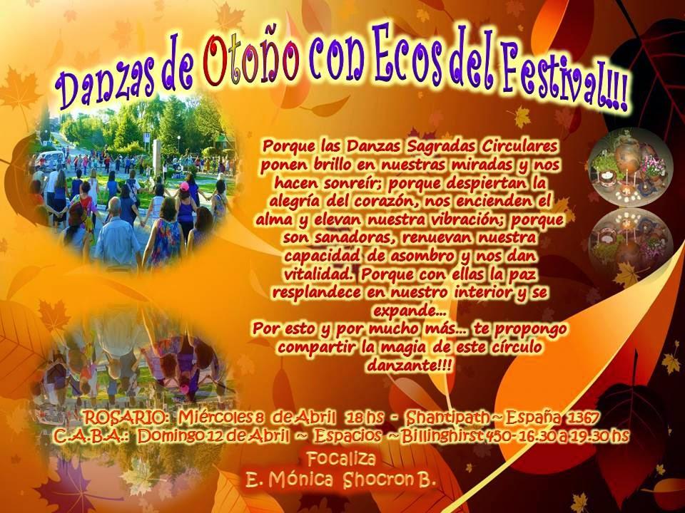 Danzas de Otoño con Ecos de Festival