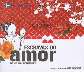 Escravas do Amor - cartaz da peça