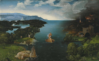 Inspiration for band name Styx - Landscape with Charon Crossing the River Styx - Joachim Patinir - Museo del Prado Madrid