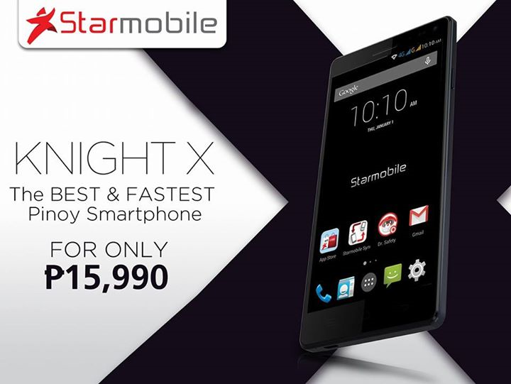 Starmobile Knight X: Powerful True Dual SIM LTE Octa-core for P15,990