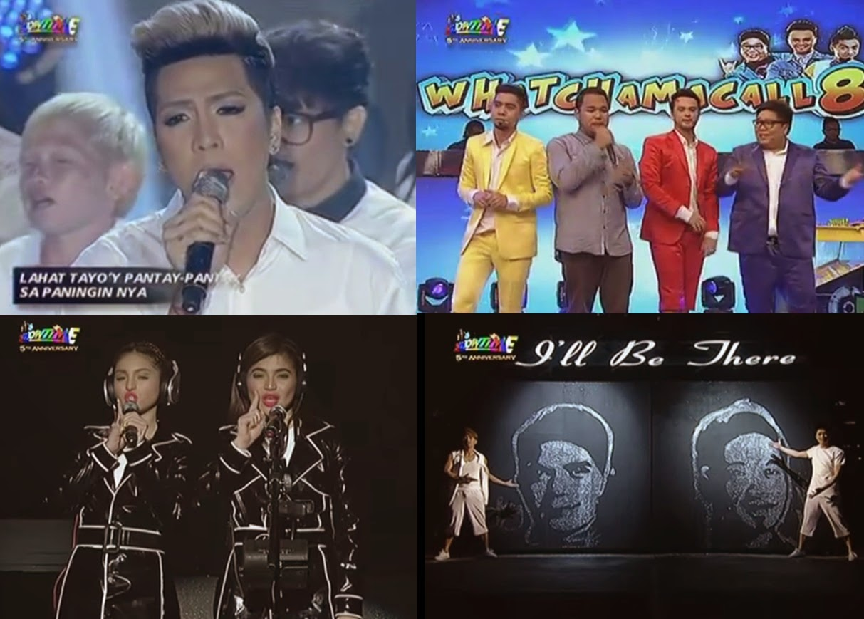 It's Showtime hosts wow viewers on 'Magpasikat' 2014 Performances