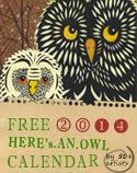 Owl Lover 2014 Calendar