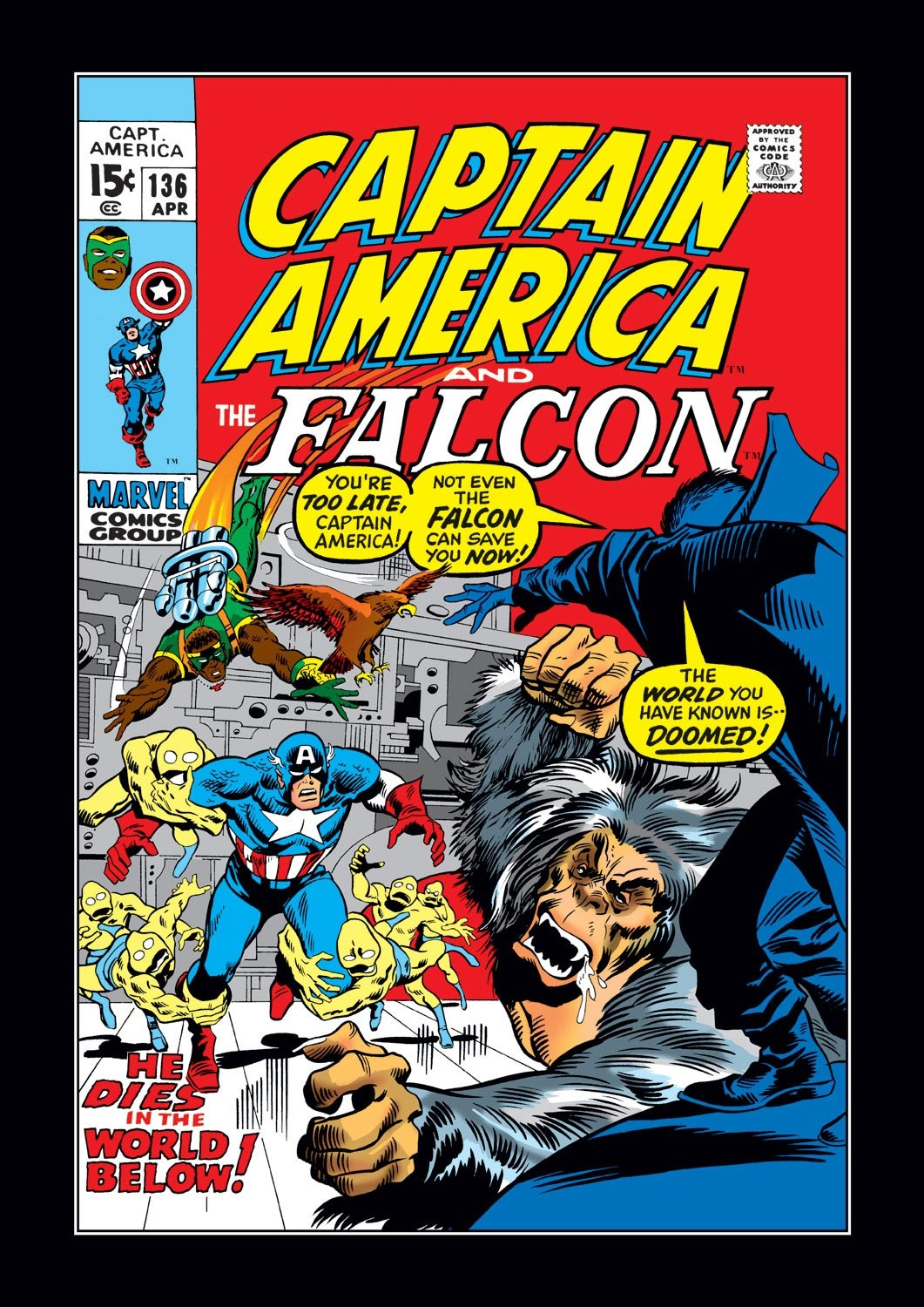 Captain America (1968) Issue #136 #50 - English 1