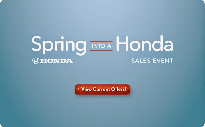Spring into a Honda