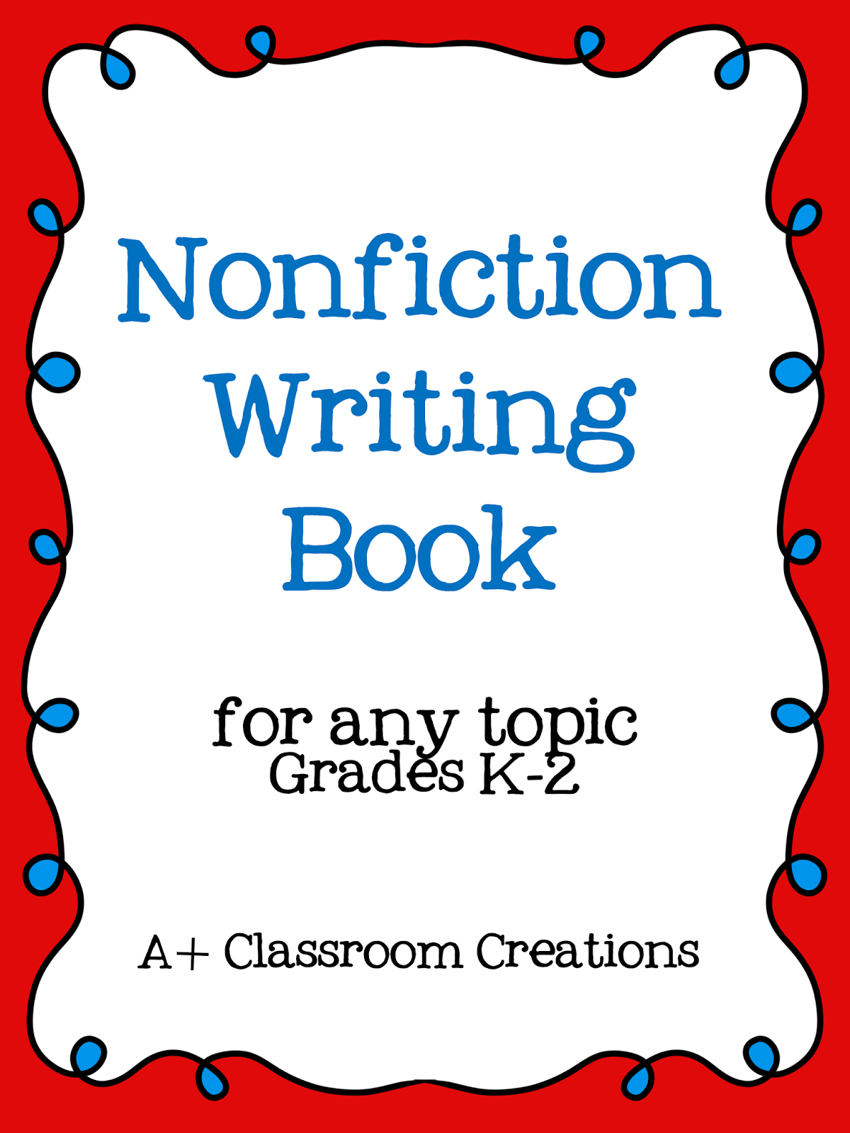 http://www.teacherspayteachers.com/Product/Nonfiction-Writing-Book-714466