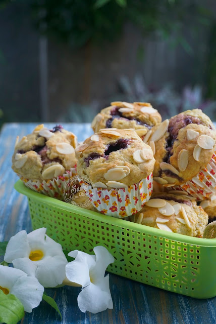 Muffin Pisang dan Bluebbery