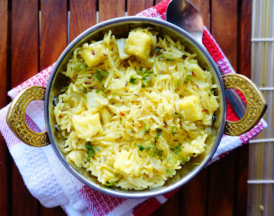 Yellow Rice, pulav