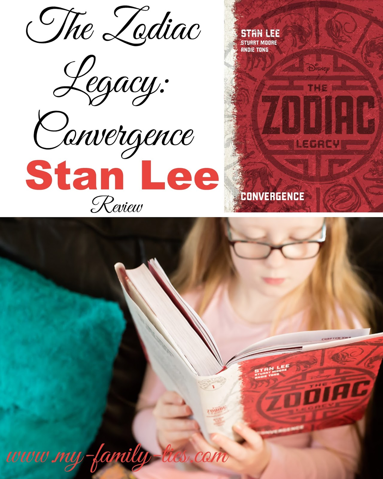 The Zodiac Legacy:convergence By Stan Lee & Andie Tong Book Review