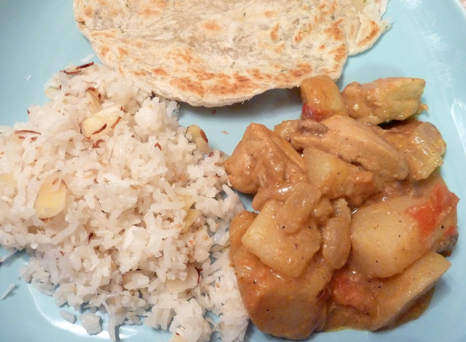 Dinner with denise potato and chicken korma for this recipe i used both types of potatoes listed here russet and red russets are more flakey and break apart i like their flavor and texture and if forumfinder Image collections
