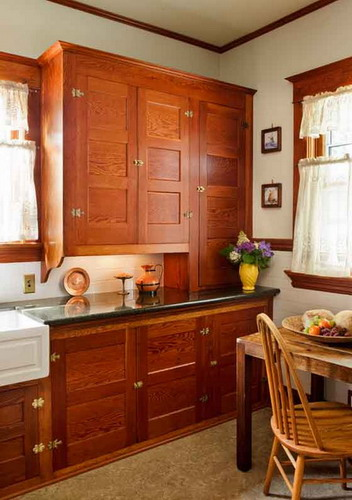 Restored Kitchen Cabinets