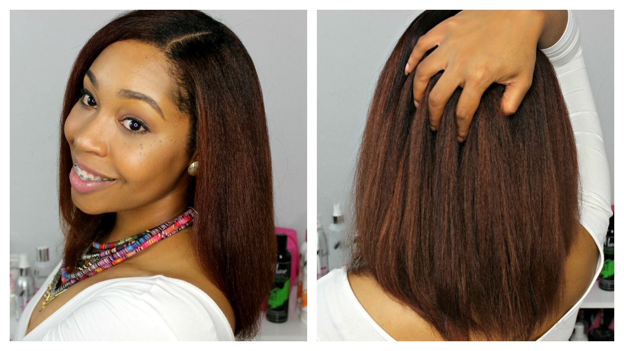 How To Straighten Natural Hair The Mane Choice