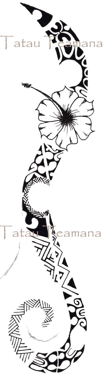 tatau tattoo tatouage de teamana novembre 2011. Black Bedroom Furniture Sets. Home Design Ideas