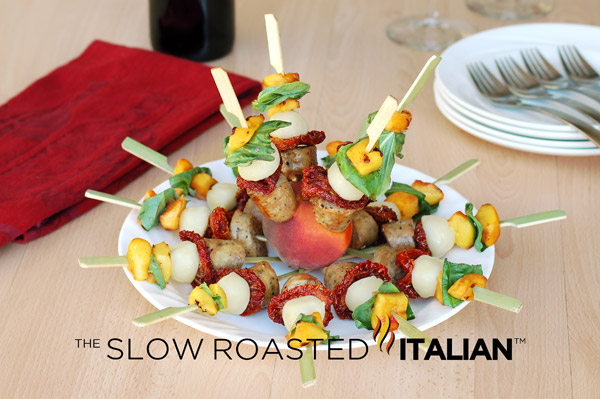 Skewers Of Sage Chicken With Sweet Italian Sausage Recipes ...