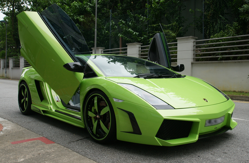 Lamborghini Gallardo Green. HD Car Wallpapers ...