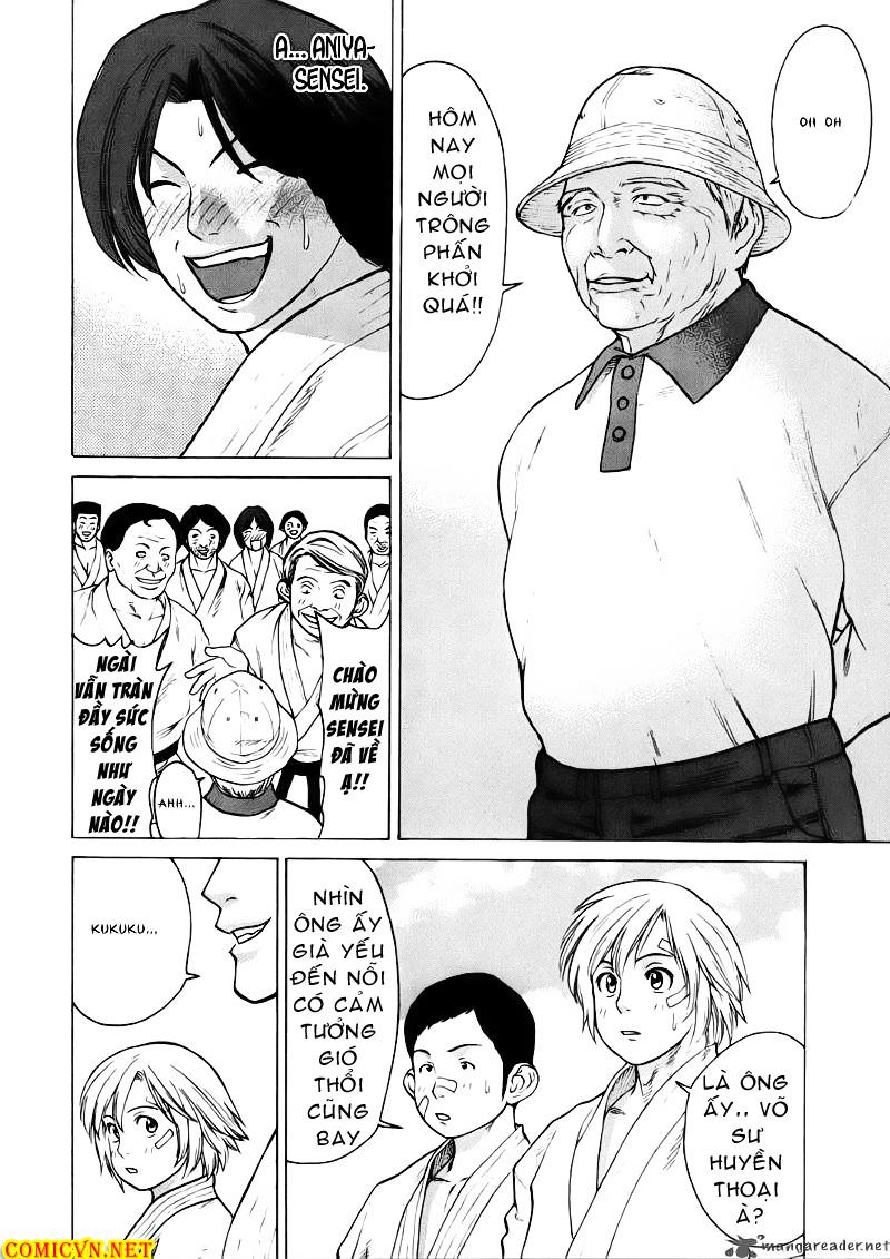 Karate Shoukoushi Kohinata Minoru chap 44 Trang 18