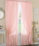 Rózsaszín      függöny