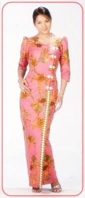 model+baju+batik+wanita contoh model baju batik terbaru dan perkembangannya,Model Baju Wanita Jadul