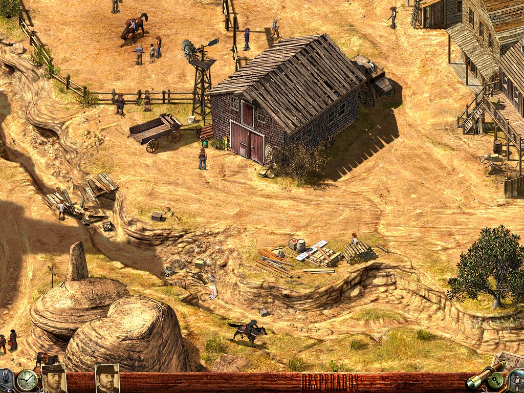 Desperados Wanted Dead Or Alive Game - Free Download Full Version For Pc