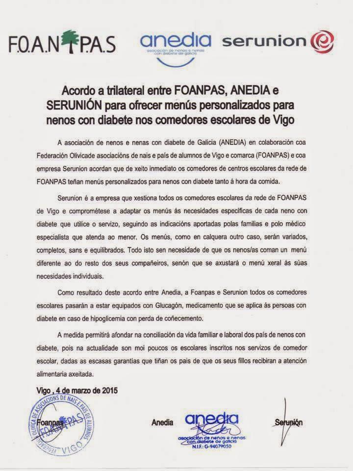 ANEDIA: Acordo a trilateral entre FOANPAS, ANEDIA e SERUNION