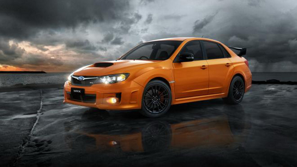 "2012 Subaru Impreza WRX Club Spec Edition on 17"" 4WD 2.5 Boxer-4"