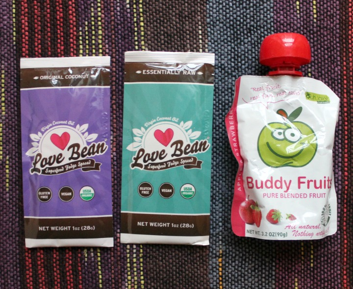 Love Bean Superfood Fudge Spread Coconut & Raw Buddy Fruits Pure Blended Fruits - Apple Strawberry