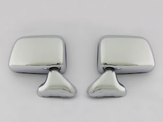 Toyota Hilux Truck Pickup RN80 RN85 RN90 RN110 RN101 Chrome Door Mirror Pair