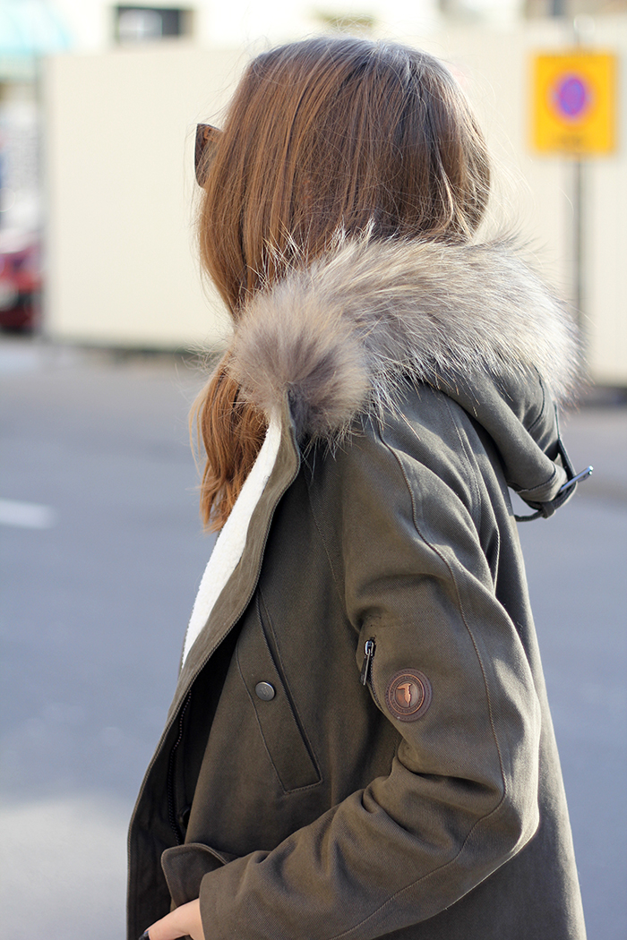 Fashion And Style Hooded Parka
