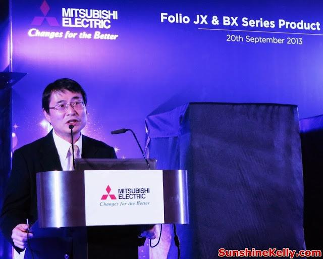 Electric, Folio JX refrigerator, folio BX Refrigerator, mitsubishi electric, japan, mitsubishi malaysia
