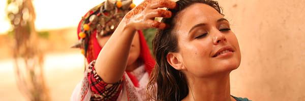 Soin des cheveux à l'huile d'argan